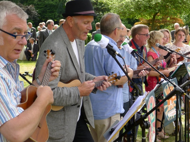 Ver Players performing at St Michael's Manor August 2014.