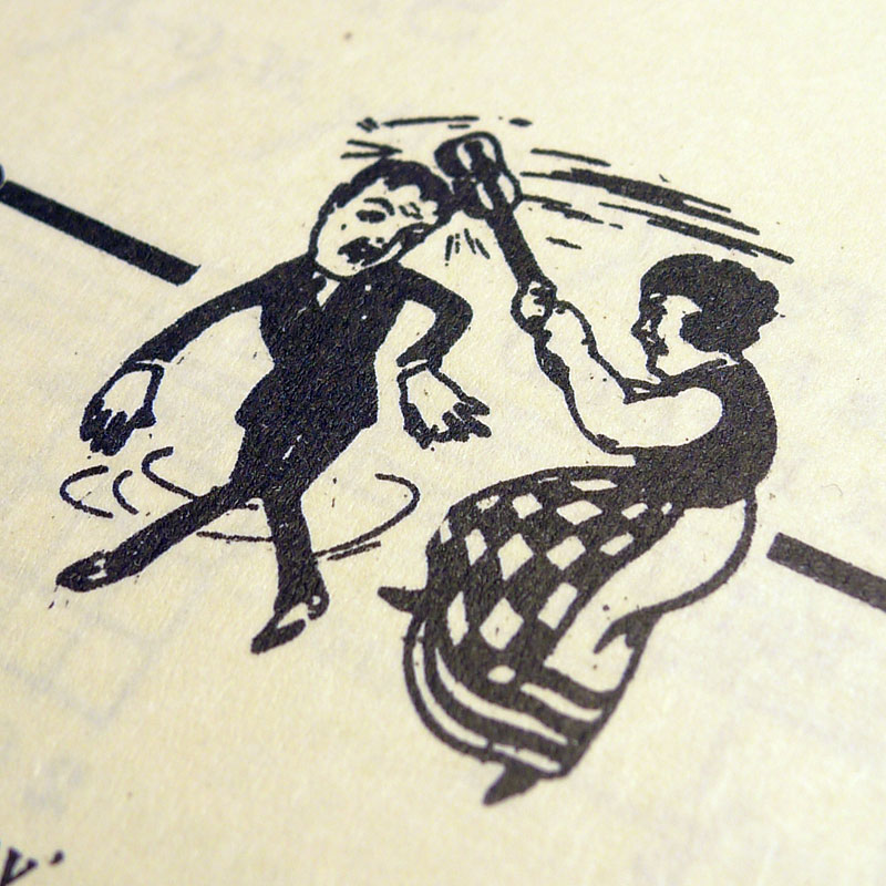 Illustration from 'Hank's One Hour Course in Ukulele Playing' 1925